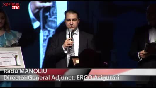 Premiul Special Pentru Profesionalism: ERGO AsigurariRadu MANOLIUDirector General Adjunct, ERGO Asigurari