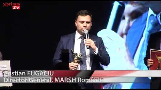 Premiul Brokerul Anului - Corporate: MARSH RomaniaCristian FUGACIUDirector General, MARSH Romania