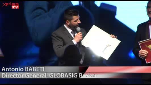 Premiul 1asig.ro: GLOBASIG BrokerAntonio BABETIDirector General, GLOBASIG Broker